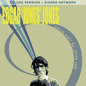 Image of EDGAR 'JONES' JONES - SOOTHING MUSIC FOR STRAY CATS - HEAVYWEIGHT 180gsm VINYL LP - DELUXE VERSION