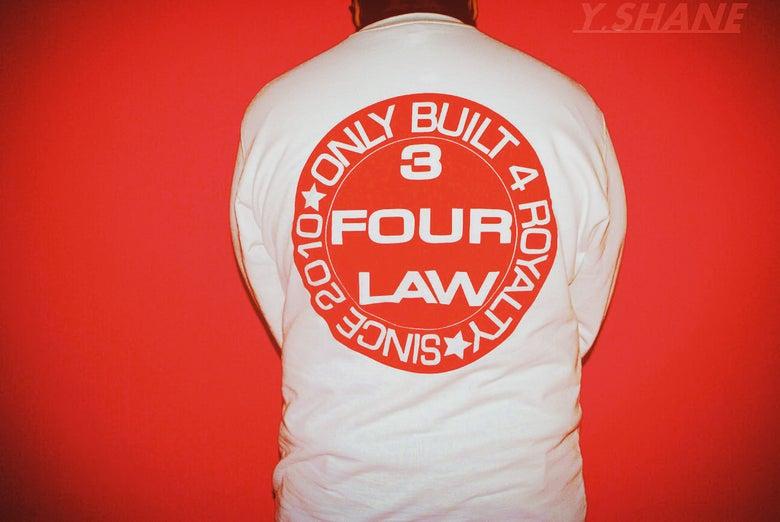 Image of 3 Four Law Stamp Crewneck (Bulls Vs. Lakers)