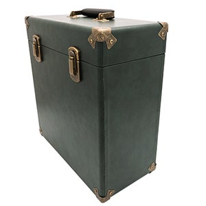 Image of GPO VINYL CASE - GREEN & BLACK