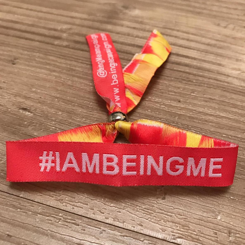Image of #IAmBeingMe 2016/17 Wristband