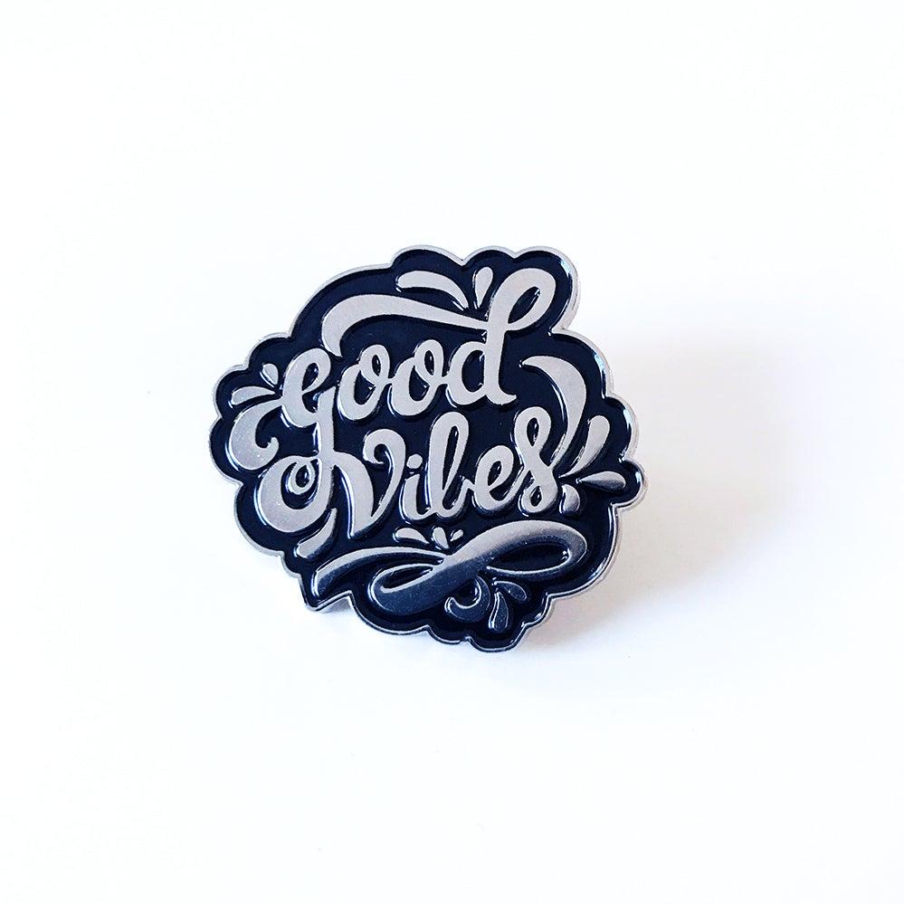 Image of Good Vibes Pin