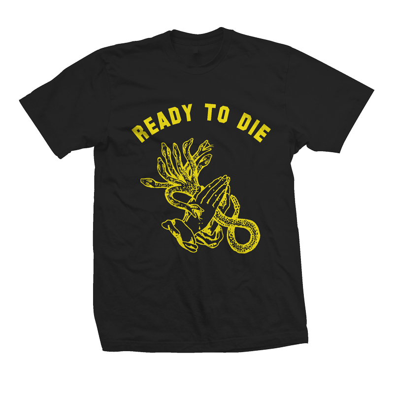 Image of READY TO DIE - short sleeve black
