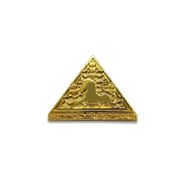 Image of Supreme Street Gold Pin