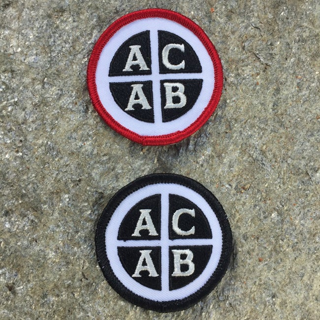 Image of Stitched ACAB patch
