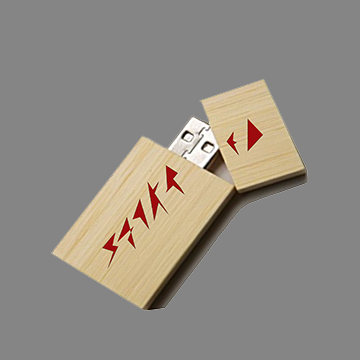 Image of SPECIALIZED WOODEN 4GB FLASH