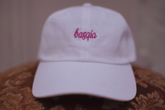 Image of White/Pink Cap