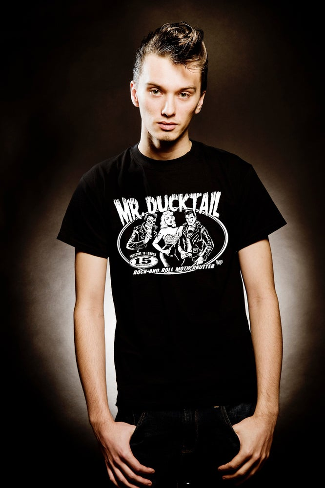 Image of Mr ducktail 15 th anniversary