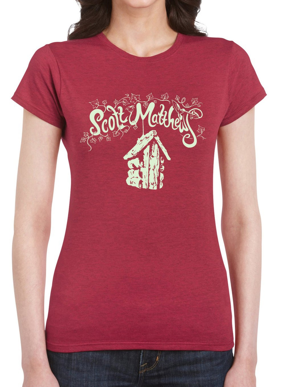 Image of Scott Matthews T-shirt - Ladies