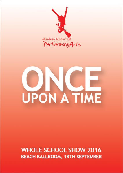 Image of AAPA - Once Upon a Time 2016 DVD