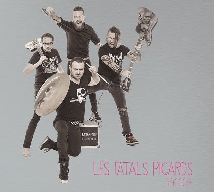 Image of LES FATALS PICARDS - 14-11-14 - Digipack CD + DVD