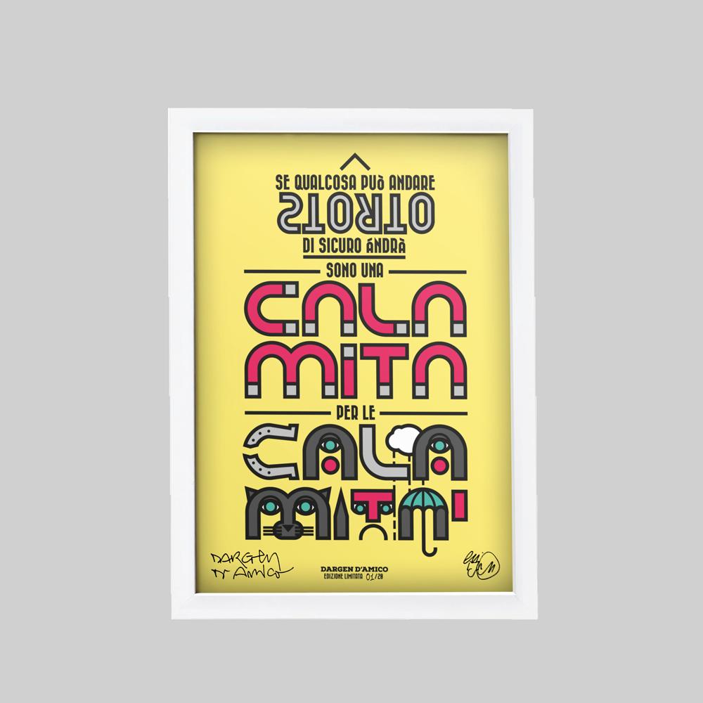 Image of Dargen D'Amico | Stampa Limited 20 Esemplari | Odio Volare