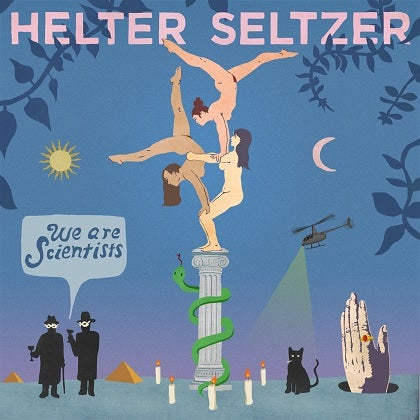 Image of WE ARE SCIENTIST - Helter Seltzer - CD Digipack