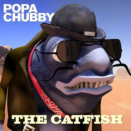 Image of POPA CHUBBY - The Catfish - CD Digipack