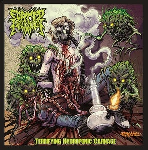Image of Forced Asphyxiation - Terrifying Hydroponic Carnage CD