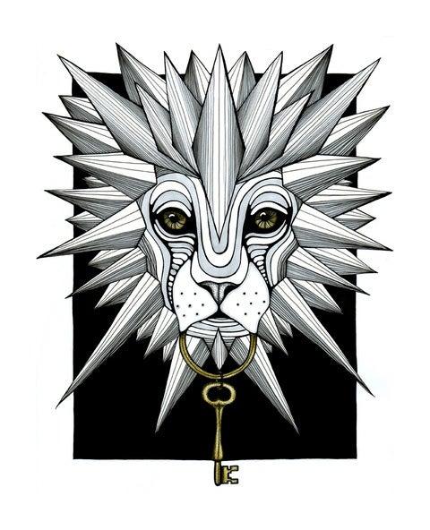 "Image of ""The Gatekeeper I"" Print"