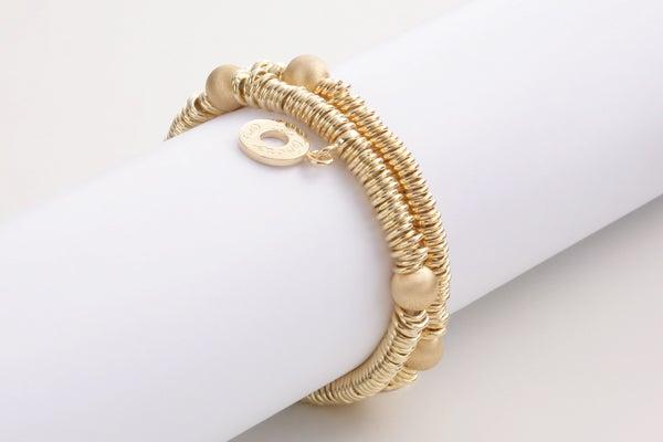 Image of Armband Milano Golbvergoldet