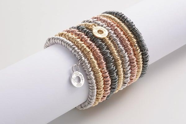 Image of Armband Roma Rosévergoldet