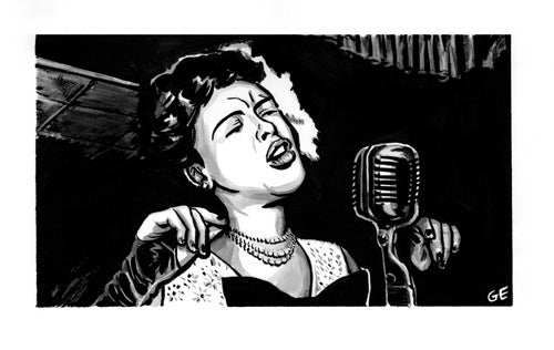 Image of Billie Holiday Print
