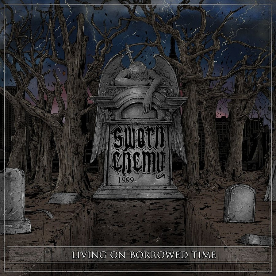 "Image of Sworn Enemy - Living On Borrowed Time 12"" Vinyl"