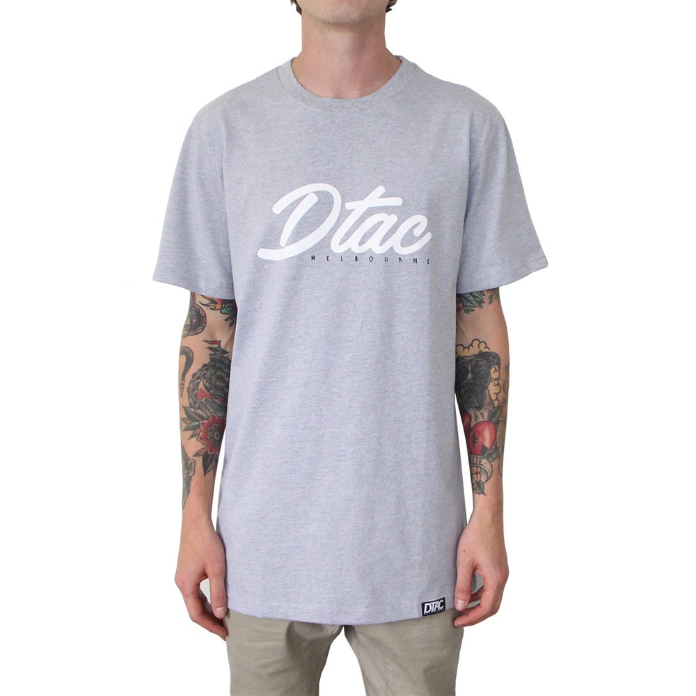 Image of Grey 'Melbourne' Dtac Tee