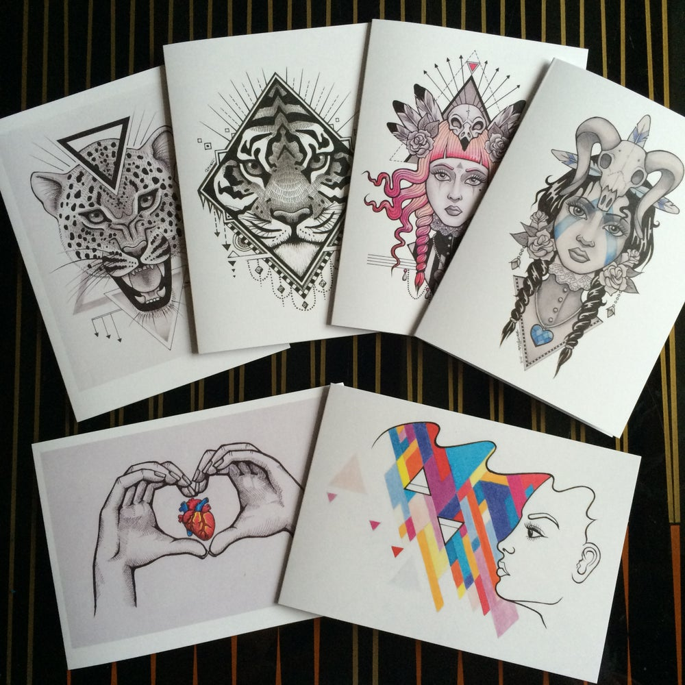 Image of Greetings cards