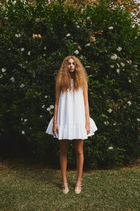 Image of SURGE RUFFLE DRESS