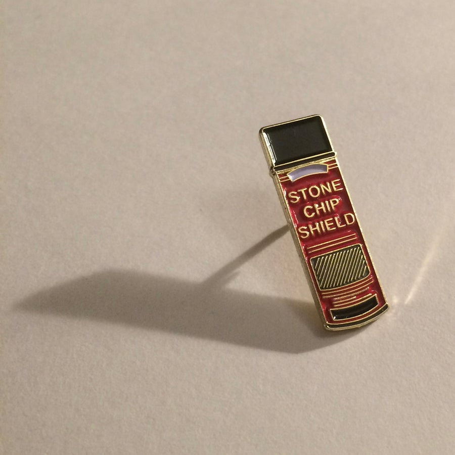 Image of Stone Chip Shield Spraycan - Pin Badge