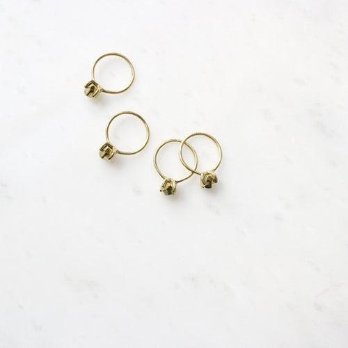 Image of Brass Gemstone Ring