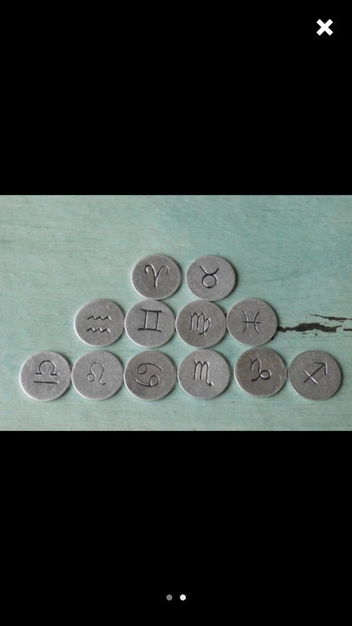 Image of What's Yo Sign Zodiac Necklace