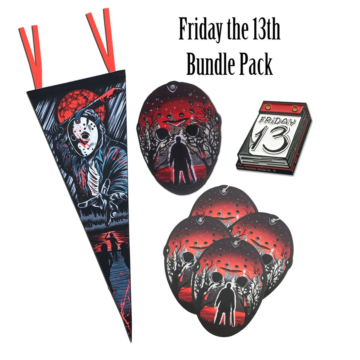 Two Ghouls Press Friday The 13th Bundle Pack