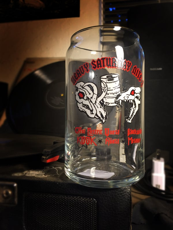 Image of ELECTRIC ROAST TOUR Beer Glass