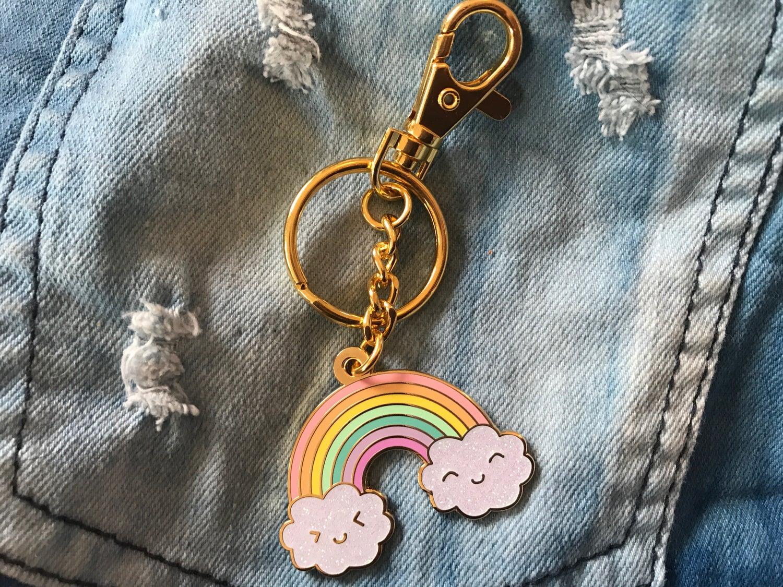 Image of Happy Rainbow Jumbo Bag Charm