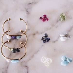 Image of Birthstones for Cuff