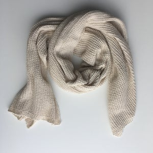 Image of Cream Knit Wrap