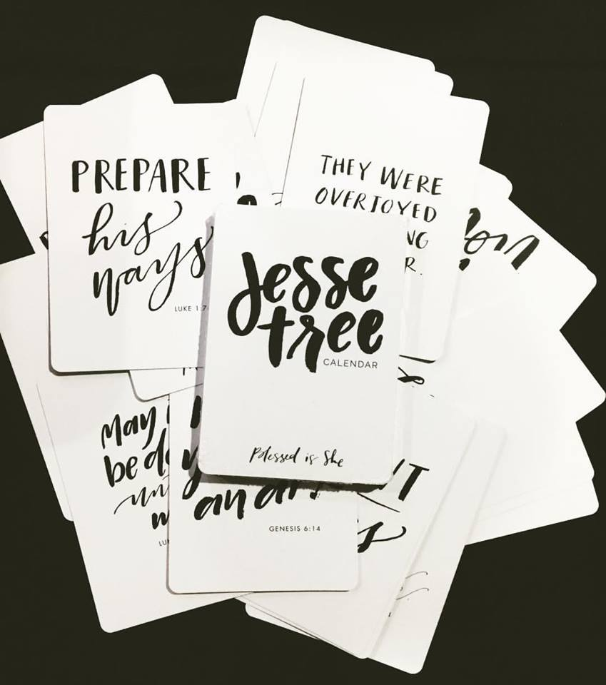 Image of Jesse Tree Advent Calendar Cards