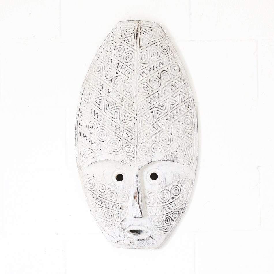 Image of Aztec Wooden Mask