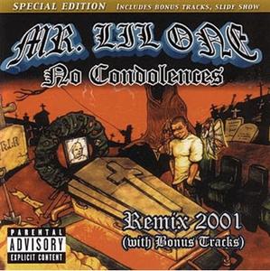 Image of MR Lil One- No Condolences CLASSIC CD
