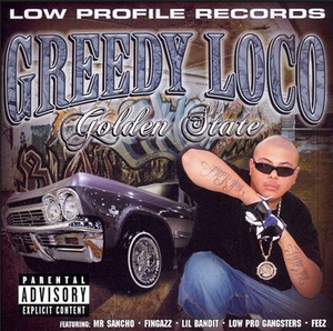Image of GREEDY LOCO GOLDEN STATE CD