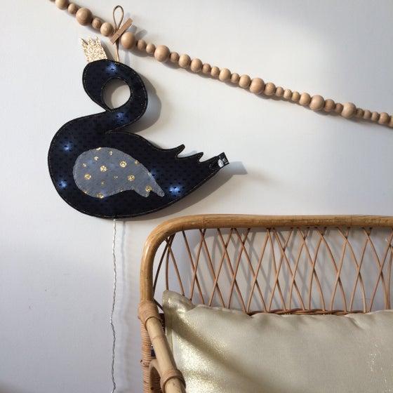 Image of Veilleuse réversible BLACK SWAN