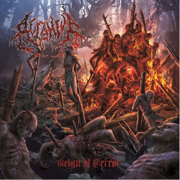 Image of ACRANIUS - Reign of Terror DigiPack-CD