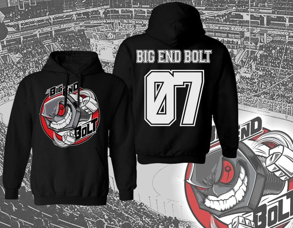 Image of BIG END BOLT - Hockey Hoodie [pre-order]