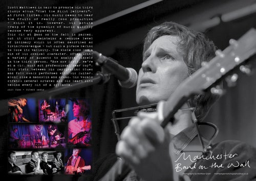 Image of Scott Matthews - What the Night Delivers - Limited Edition Tour Book