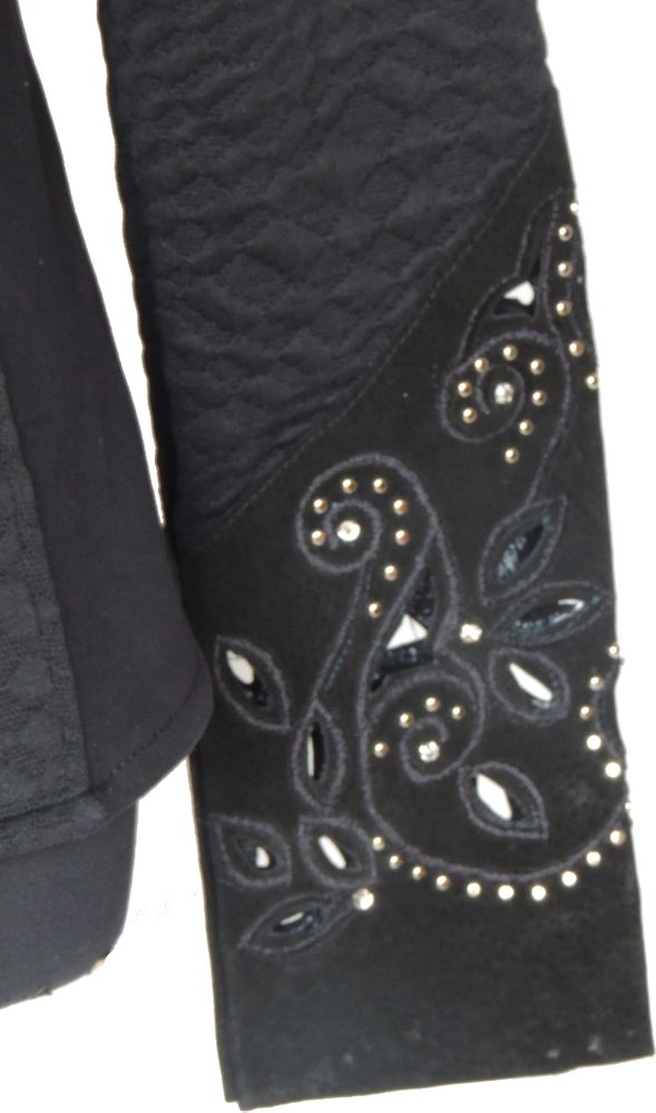 Image of Black Cavally Bling Jacket - SW5047