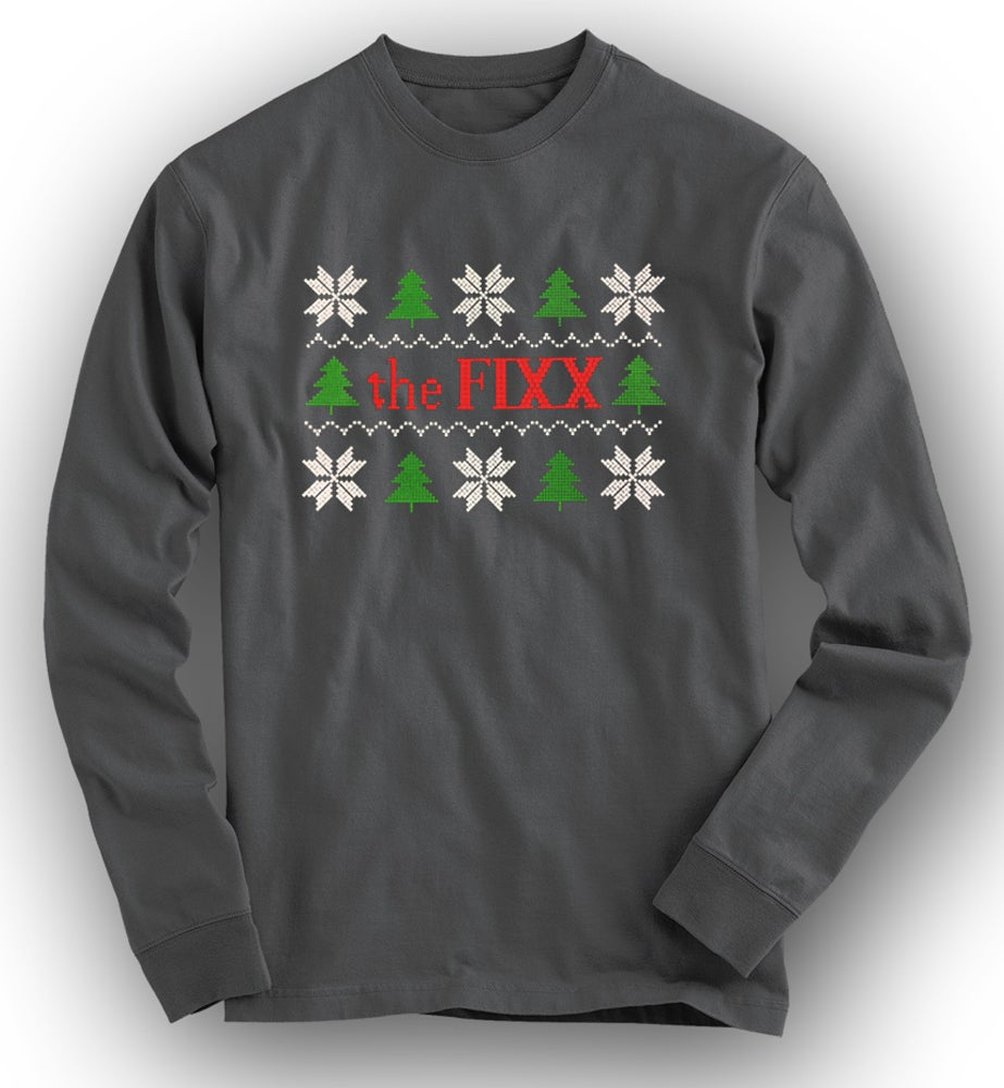 """Image of """"FIXXmas Sweater"""" Long-sleeved Tee - LIMITED!"""