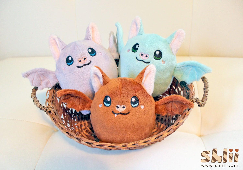Image of Dumpling Bat Handmade Doll