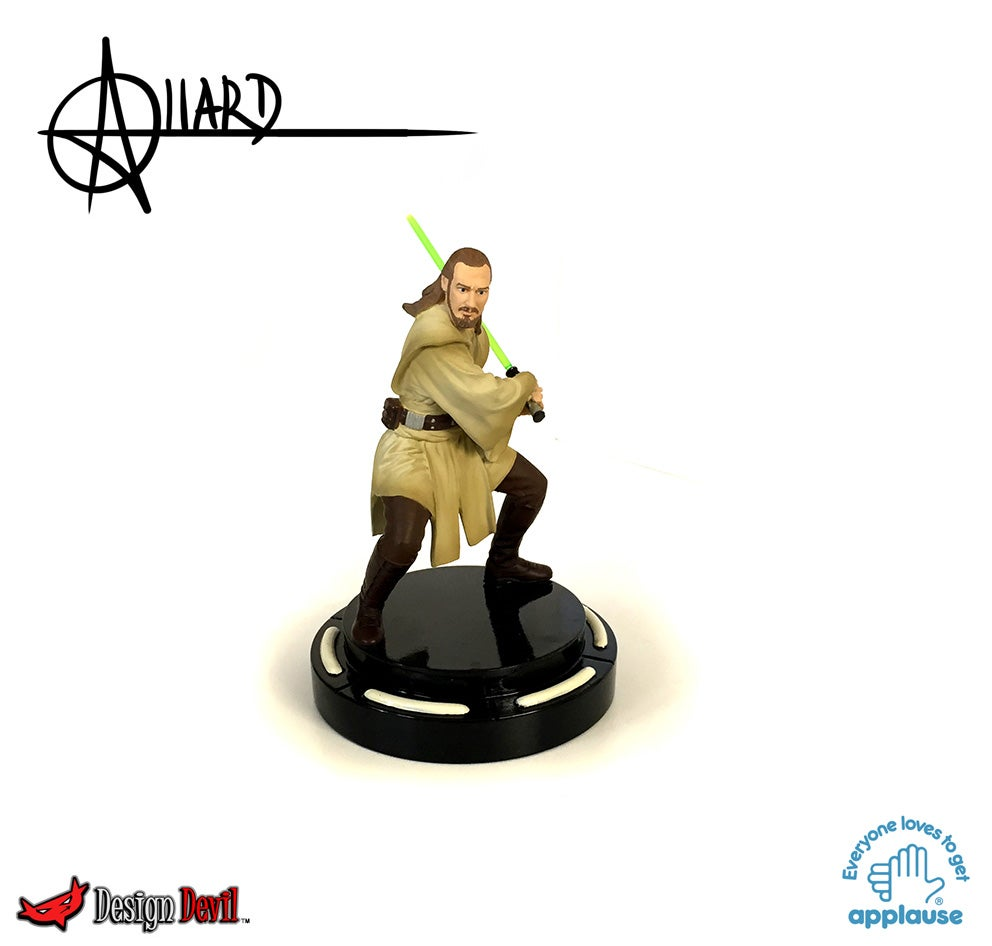 Image of Qui-Gon Jinn resin Statuette