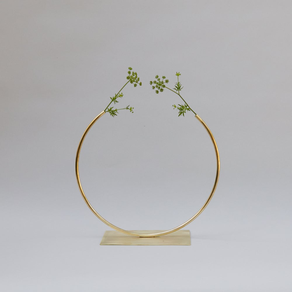 Image of Circle Vases by Anna Varendorff for ACV Studio at acvstudio.com