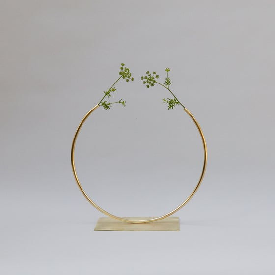 Image of Circle Vases by Anna Varendorff for ACV Studio at acvstudio.com