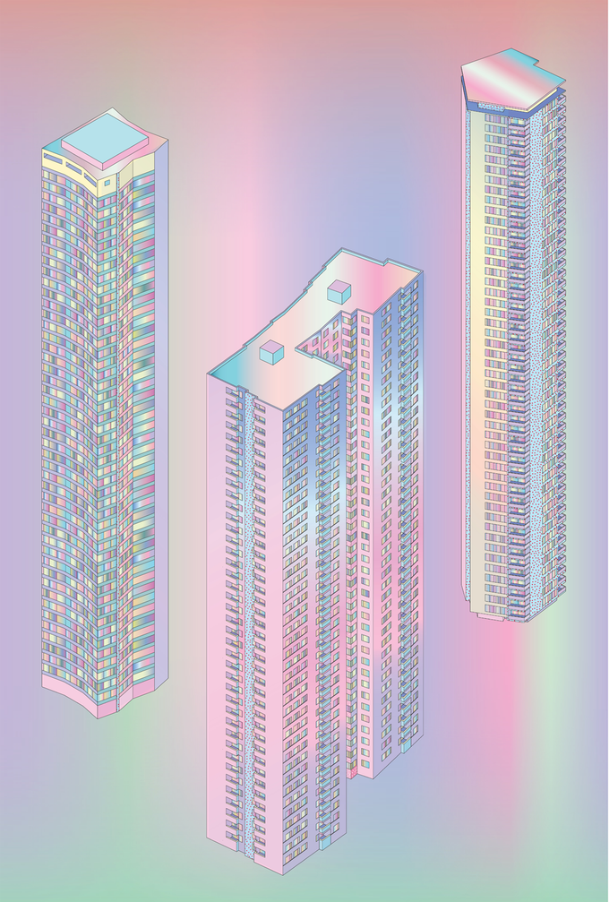 Image of ISO BERLIN TOWERS I