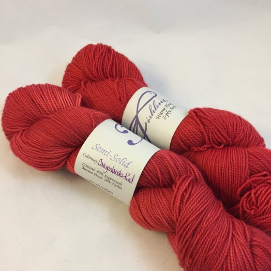 Image of Canyonlands Red: Superwash Warm Heart Fingering